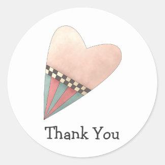 Gram's Garden · Pink Heart Stickers