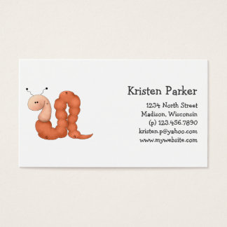 Gram's Garden · Red Worm Business Card