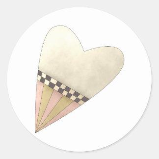 Gram's Garden · Yellow Heart Sticker