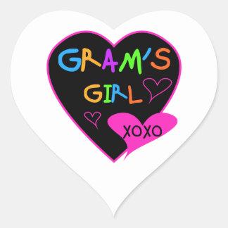 Gram's Girl Custom T-Shirts, Mugs, Buttons, Cases Sticker