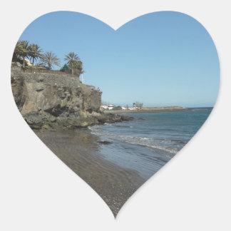 Gran Canaria Heart Sticker