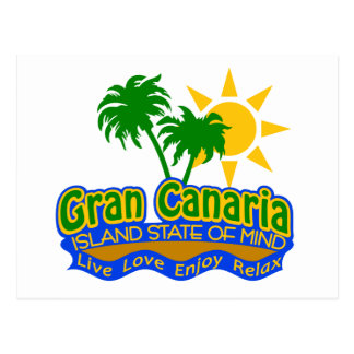 Gran Canaria State of Mind postcard