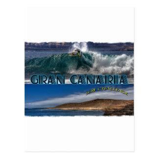 Gran Canaria Surf Challenge Postcard
