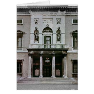 Gran Teatro La Fenice Greeting Card