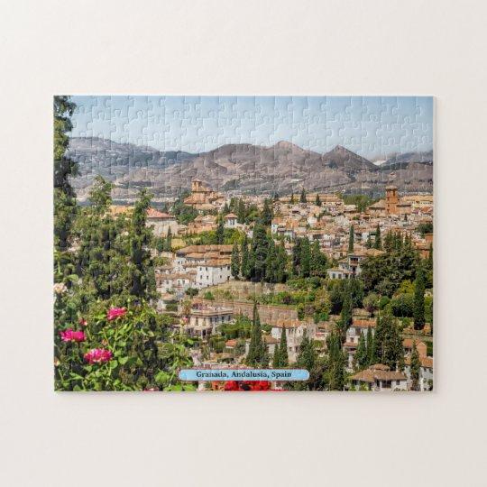 Granada, Andalusia, Spain Jigsaw Puzzle