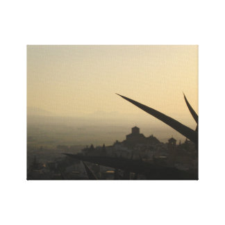 Granada city Spain photo  Single Canvas Print