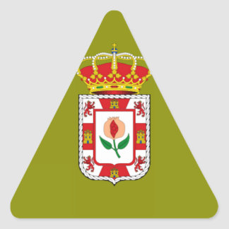 Granada (Spain) Provincial flag Triangle Sticker