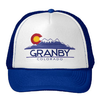 Granby Colorado wood mountains hat