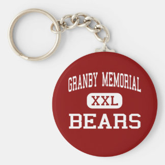 Granby Memorial - Bears - Middle - Granby Key Ring