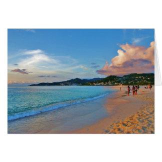 Grand Anse Beach Grenada Greeting Card