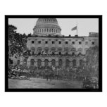 Grand Army Review by the US Capitol 1865
