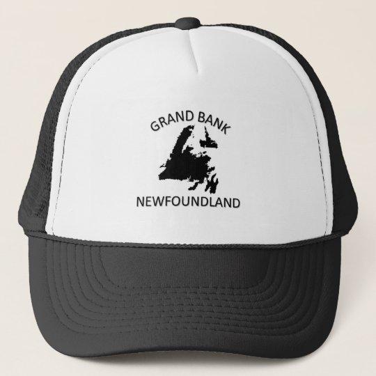 Grand bank trucker hat
