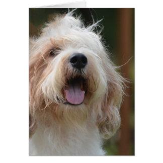 Grand Basset Dog Greeting Card