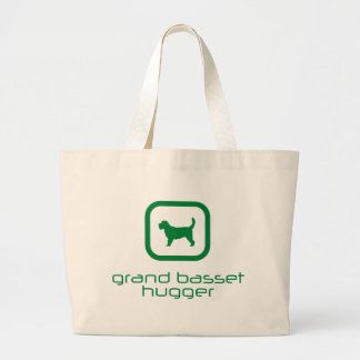 Grand Basset Griffon Vendeen Large Tote Bag