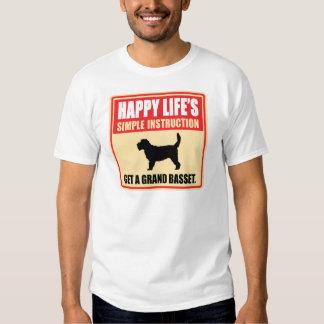 Grand Basset Griffon Vendeen T Shirt