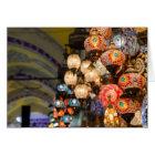 Grand Bazaar Lanterns - Blank Inside Card