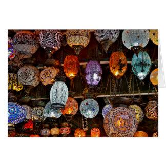 Grand Bazar In Istanbul, Turkey Card