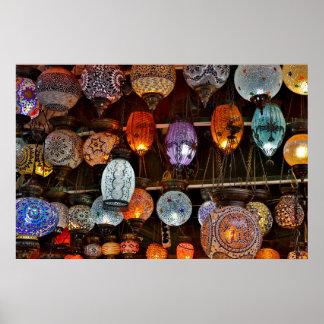 Grand Bazar In Istanbul, Turkey Poster