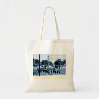 Grand Boulevard, Chicago, Illinois Vintage Tote Bag