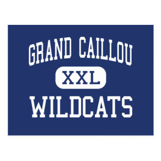 Grand Caillou Wildcats Middle Houma Postcard