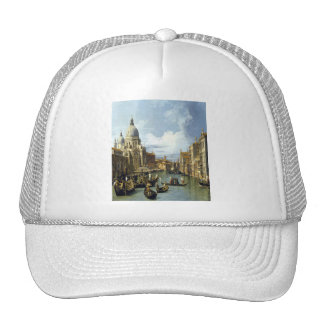 'Grand Canal and the Church of the Salute' Cap