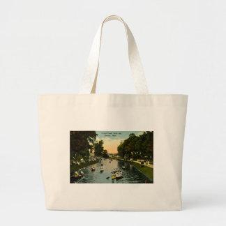 Grand Canal Belle Isle, Detroit, Michigan Bags