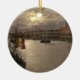 Grand Canal by Moonlight I, Venice, Italy Christmas Ornament