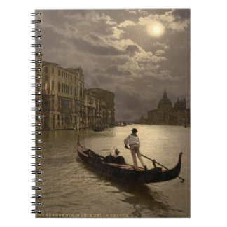 Grand Canal by Moonlight II, Venice, Italy Notebooks