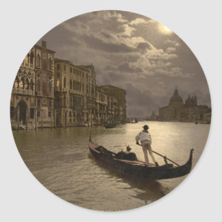 Grand Canal by Moonlight II Venice Italy Sticker