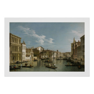 Grand Canal from Palazzo Flangini to Palazzo Bembo Poster