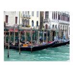 Grand Canal Gondolas Post Card