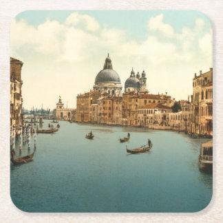 Grand Canal I, Venice, Italy Square Paper Coaster
