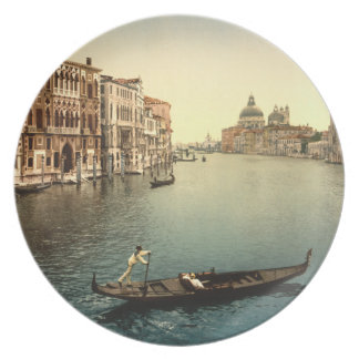 Grand Canal II, Venice, Italy Plate