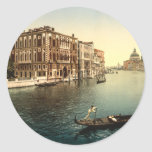 Grand Canal II, Venice, Italy Round Sticker
