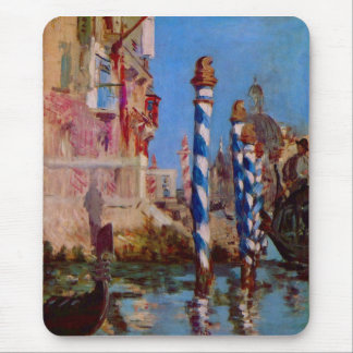 Grand Canal in Venice by Edouard Manet Mouse Pad