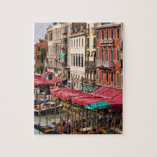 Grand Canal of Venice Italy with gondola boats Puzzle