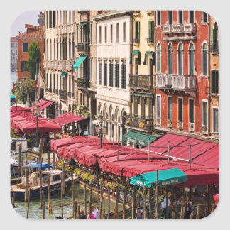 Grand Canal of Venice Italy with gondola boats Stickers