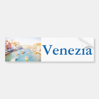 Grand Canal Venice Bumper Sticker