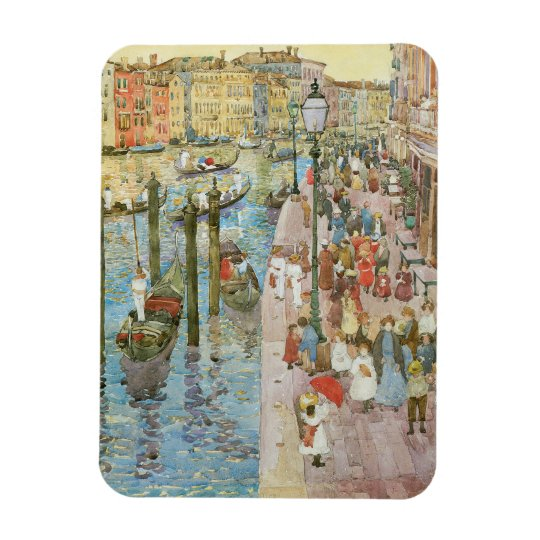 Grand Canal, Venice by Maurice Prendergast Rectangular Photo Magnet