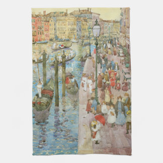 Grand Canal, Venice by Maurice Prendergast Tea Towel