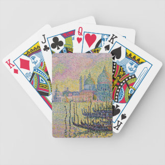Grand Canal, Venice by Paul Signac Bicycle Playing Cards