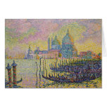 Grand Canal, Venice by Paul Signac Greeting Card