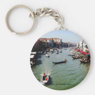 Grand Canal, Venice from Rialto Bridge Key Ring
