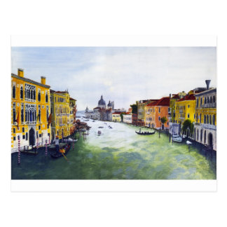 Grand Canal, Venice, Italy Postcard
