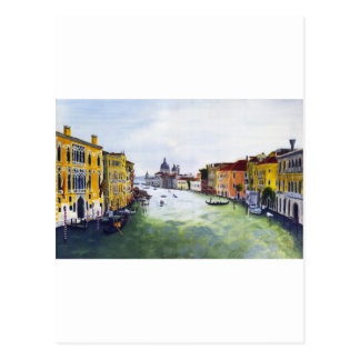 Grand Canal Venice Italy Post Card