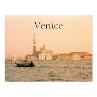 Grand Canal Venice Italy Postcard