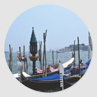 Grand Canal Venice Italy Round Stickers