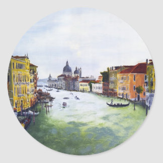 Grand Canal, Venice, Italy Stickers