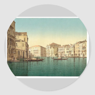 Grand Canal Venice Italy vintage Photochrom Stickers