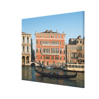 Grand Canal, Venice, Veneto, Italy Stretched Canvas Print